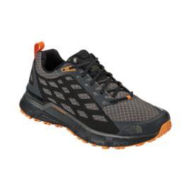 The North Face Men's Endurus TR Trail Running Shoes - Grey/Black/Orange