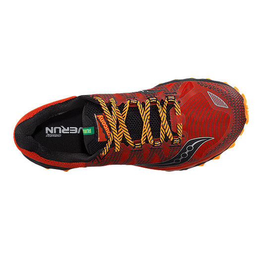 7053bd8e2c4 Saucony Men's Peregrine 7 Running Shoes - Red/Black/Orange ...