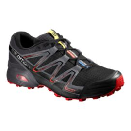 Salomon Men's SpeedCross Men's Running Shoes - Black/Grey/Red