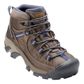 Keen Women's Targhee II Mid Waterproof Day Hiking Boots - Goat/Crown