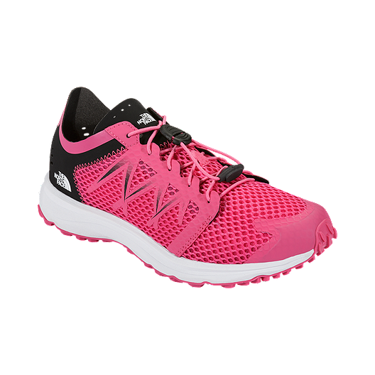 d61b18454 The North Face Women's LiteWave Flow Lace Water Shoes - Pink/White