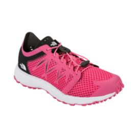 The North Face Women's LiteWave Flow Lace Sandals - Pink/White