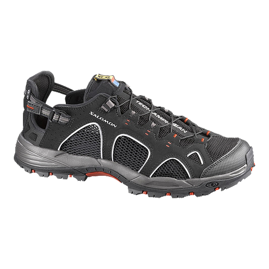 897db7df3cd6 Salomon Men s Techamphibian 3 Water Trail Shoes - Black