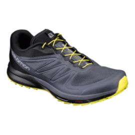 Salomon Men's Sense Pro 2 Running Shoes - Black/Yellow