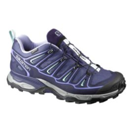 Salomon Women's X Ultra 2 GTX Hiking Shoes - Blue/Grey