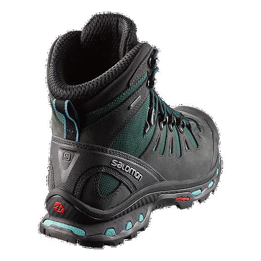 acdc759f7b6 Salomon Women's Quest 4D 2 GTX® Hiking Boots - Grey/Blue