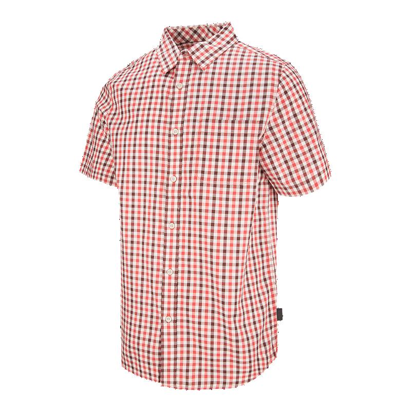 189caf54f The North Face Men's Passport Plaid Short Sleeve Shirt