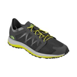 The North Face Men's LiteWave Flow Lace Sandals - Black/Yellow