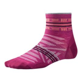 Smartwool Women's PhD Outdoor Ultra Light Pattern Mini Socks