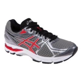 ASICS Men's GT-3000 3 Running Shoes - Silver/Black/Red