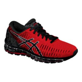 ASICS Men's Gel Quantum 360 Running Shoes - Red/Black/Silver