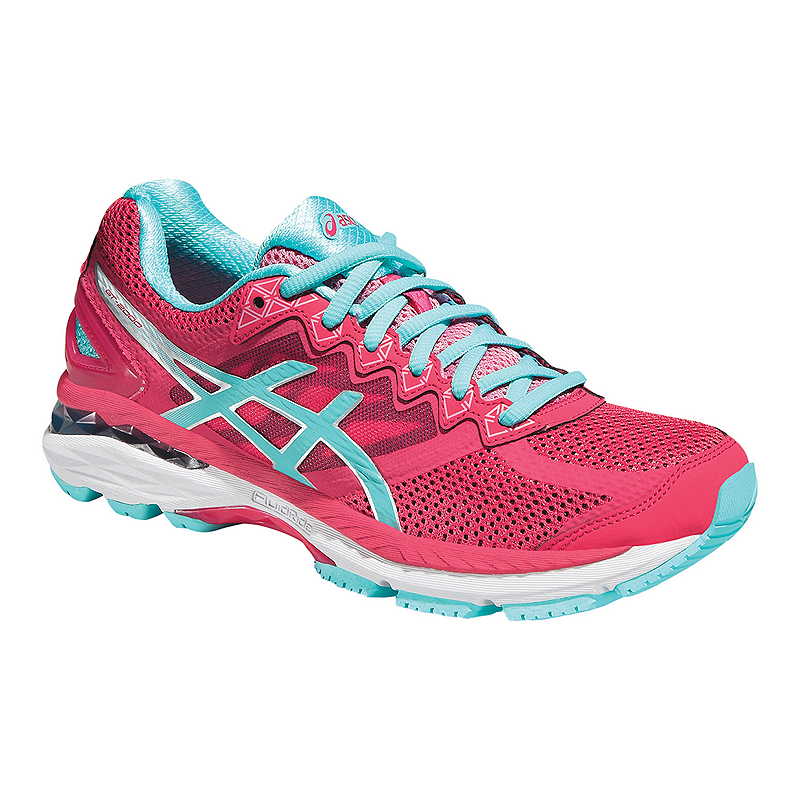ASICS Women s GT-2000 4 Running Shoes - Pink Light Blue  b5d85a930
