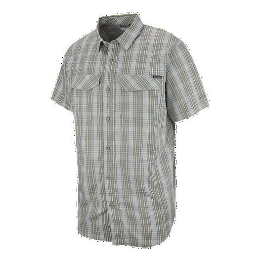 146bb85c846 Columbia Men s Silver Ridge Lite Short Sleeve Plaid Shirt ...