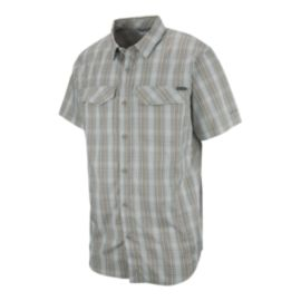 Columbia Men's Silver Ridge Lite Short Sleeve Plaid Shirt