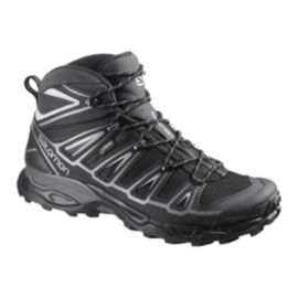 Salomon Men's X Ultra Mid 2 GTX Day Hiking Boots - Black/Grey