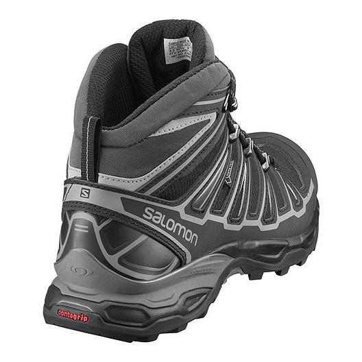 25c8095455a Salomon Men's X Ultra Mid 2 GTX Day Hiking Boots - Black/Grey ...