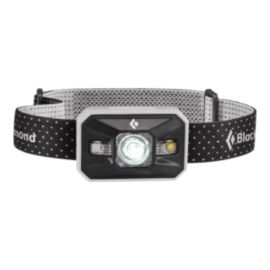 Black Diamond Storm Power Tap Headlamp - Aluminum
