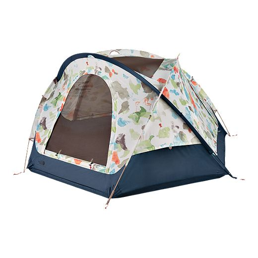 The North Face Homestead Domey 3 Person Tent - Vintage White Sparse