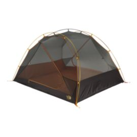 The North Face Talus 4 Person Tent - Golden Oak/Saffron Yellow