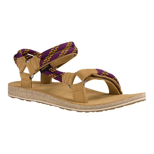 dd1bc6a8b1ed57 Teva Women's Original Universal Premier Rope Sandals - Dark Purple |  Atmosphere.ca