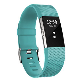Fitbit Charge 2 Fitness Tracker - Teal Small