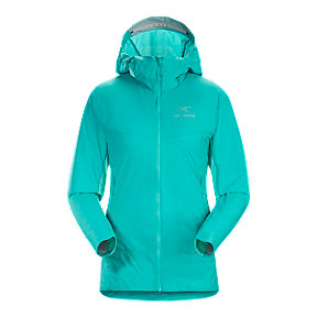 Arc'teryx Women's Atom SL Insulated Hooded Jacket - Castaway Blue - Prior Season