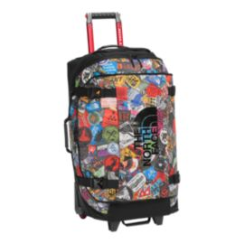 The North Face Rolling Thunder 80L Wheeled Luggage - Red Sticker
