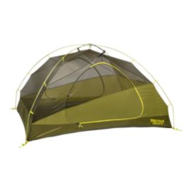 Marmot Tungsten 3 Person Tent with Footprint - Green Shadow/Moss