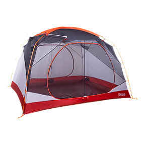 Marmot Limestone 6 Person Tent - Orange Spice