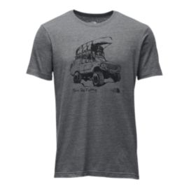The North Face Men's Off Road Tri Blend Short Sleeve Tee