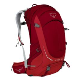 Osprey Stratos 34L Day Pack - Beet Red
