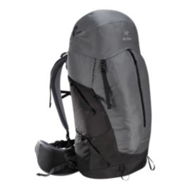 Arc'teryx Men's Bora AR 63L Backpack - Titanium Grey