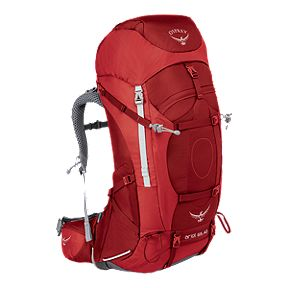 Osprey Women s Ariel AG 65L Backpack - Picante Red c859e0f76c469