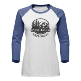 The North Face Women's Sierra 3/4 Sleeve Baseball T Shirt