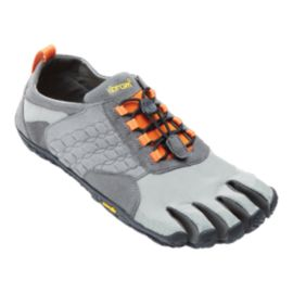 Vibram Men's FiveFingers Trek Ascent Hiking Shoes - Grey/Black/Orange