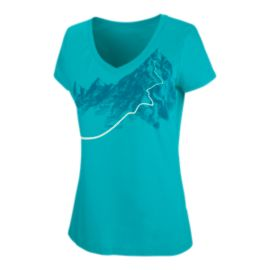 Arc'teryx Women's Afterglo V Neck T Shirt