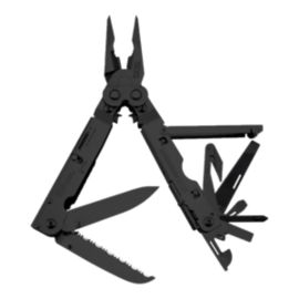 SOG PowerAssist Multi-Tool w/ Leather Sheath - Black