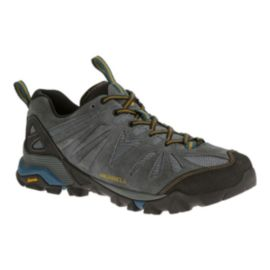 Merrell Men's Capra Turbulence Hiking Shoes - Grey/Black