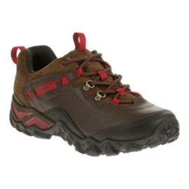 Merrell Women's Chameleon Shift Traveler Hiking Shoes - Brown/Red