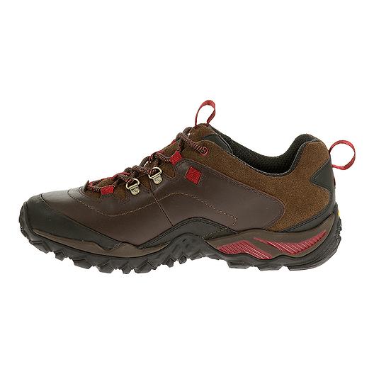 9e185ab0b12 Merrell Women's Chameleon Shift Traveler Hiking Shoes - Brown/Red ...