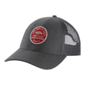 The North Face Patches Trucker Hat - Grey/Red
