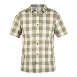 Fjällräven Men's High Coast Big Chek Short Sleeve Shirt