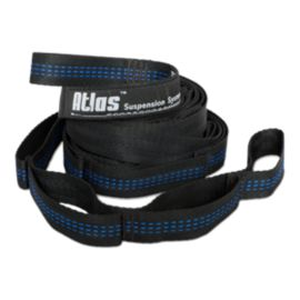 ENO Atlas Hammock Suspension Straps - Black/Blue