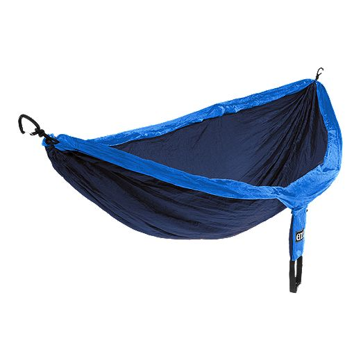 ENO DoubleNest Hammock - Navy Blue/Royal Blue