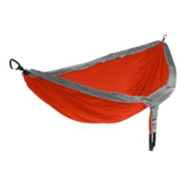 ENO DoubleNest Hammock - Orange/Grey