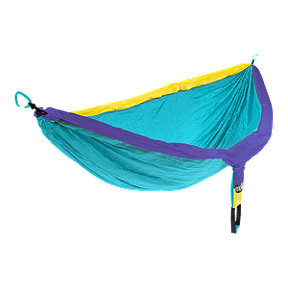 ENO DoubleNest Hammock - Retro Teal/Purple