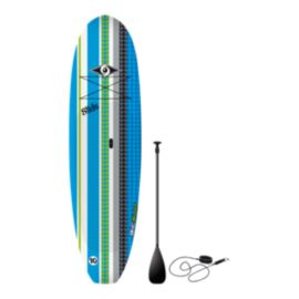"Bic Slide 10'6"" Paddle Board with Paddle - Blue/Green/White"