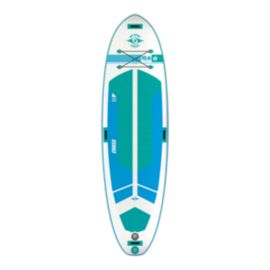 Bic Cross Fit Air 10' Inflatable Paddle Board - Blue/Green/White