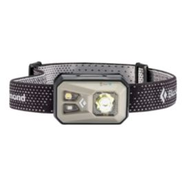 Black Diamond ReVolt USB Rechargeable Headlamp 300 Lumens - Nickel Grey