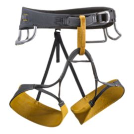 Black Diamond Zone Climbing Harness - Curry/Black